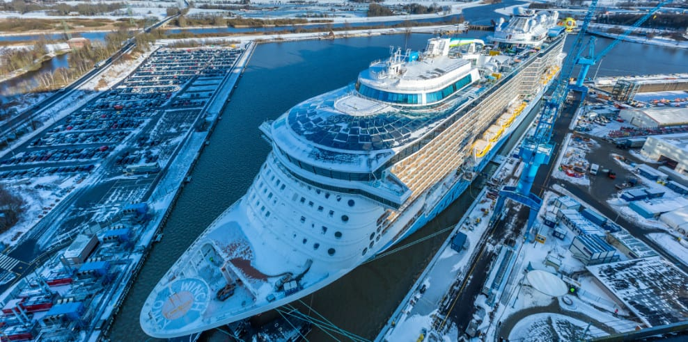 Odyssey of the Seas at Meyer Werft