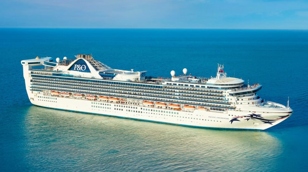 P&O Australia Cruise Ship