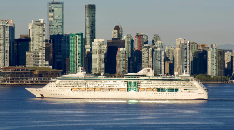 Radiance of the Seas in Candada