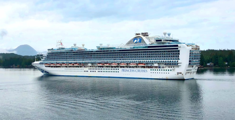 Princess Cruises Cancels More Sailings Including Alaska