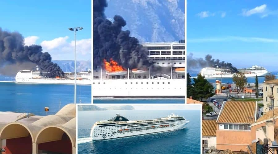 MSC Cruise Ship Fire