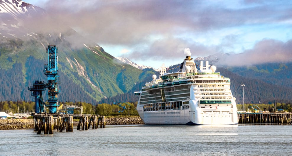 Royal Caribbean in Alaska
