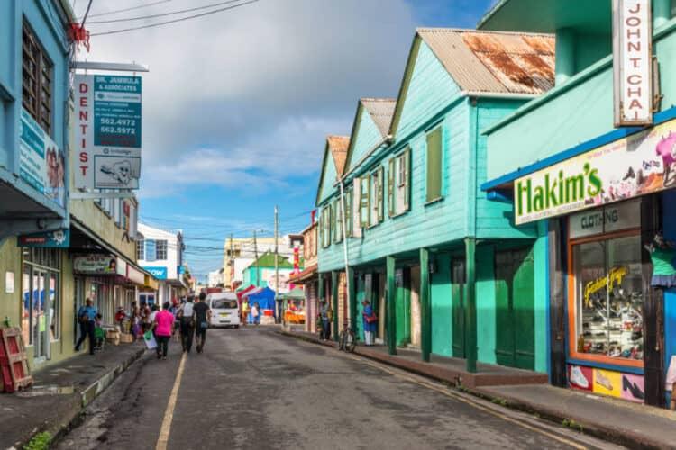 Downtown St. John's, Antigua
