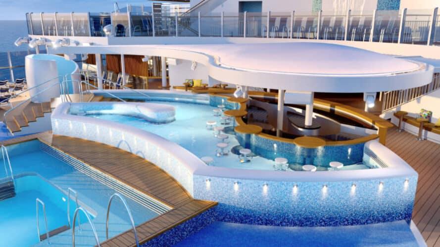 Arvia Infinity Pool and Swim Up Bar