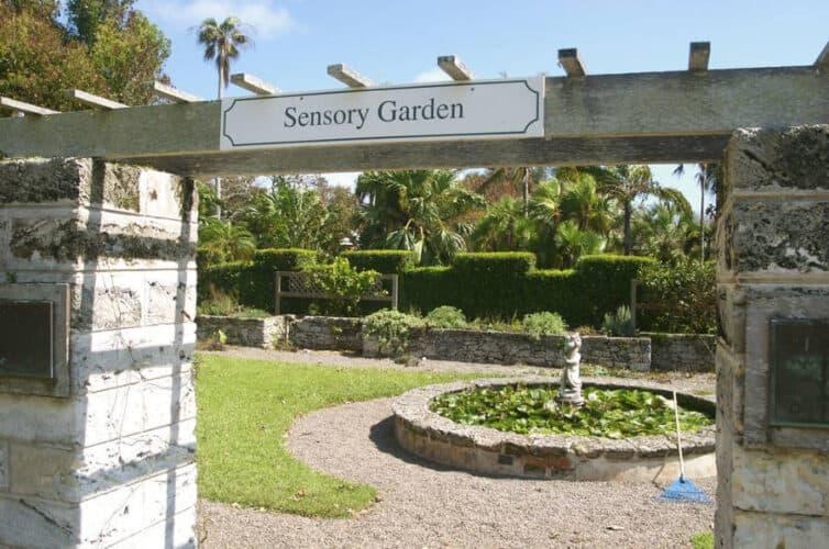 Sensory Garden at Bermuda Botanical Gardens