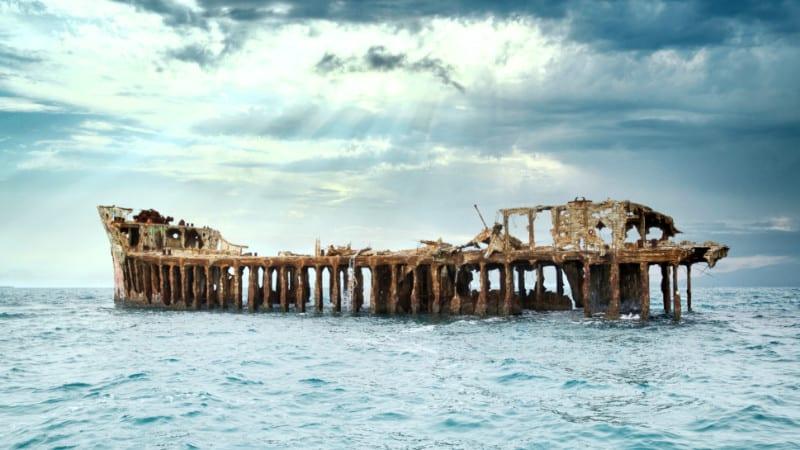 SS Sapona Wreckage