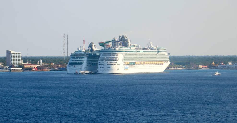 Royal Caribbean Ships in Cozumel