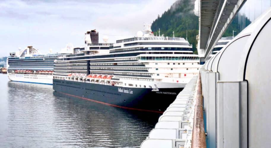 Princess and Holland America Cruise Ships