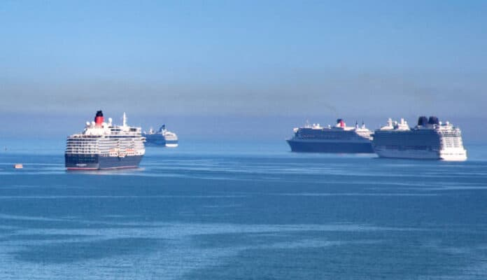 Cruise Ships on Hold During Suspension