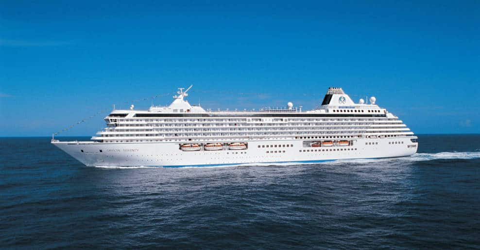 Crystal Serenity Cruise Ships