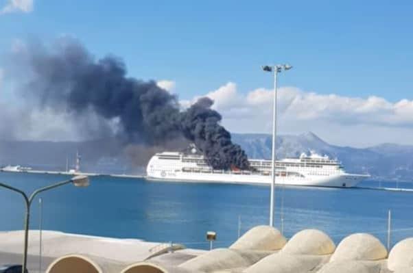 MSC Lirica Cruise Ship Fire
