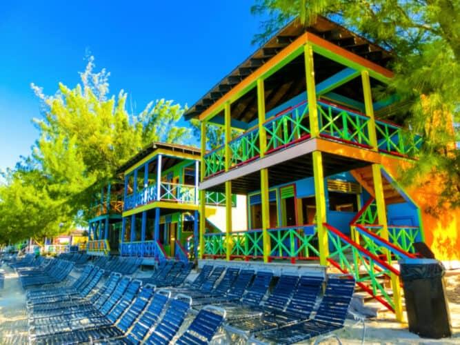 Half Moon Cay Cabanas