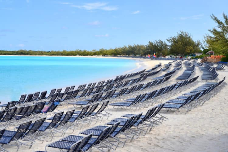 Half Moon Cay Beach Before the Guests Arrive!