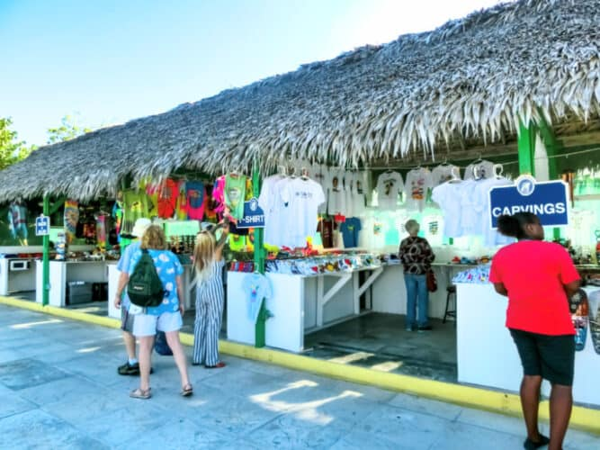 Local Stores at Half Moon Cay