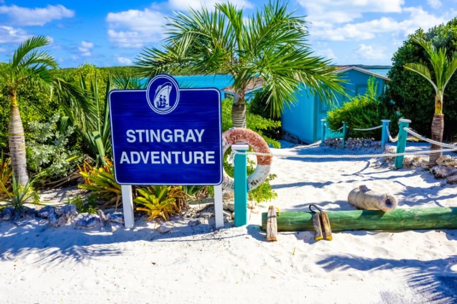 Stingray Adventure at Half Moon Cay, Bahamas