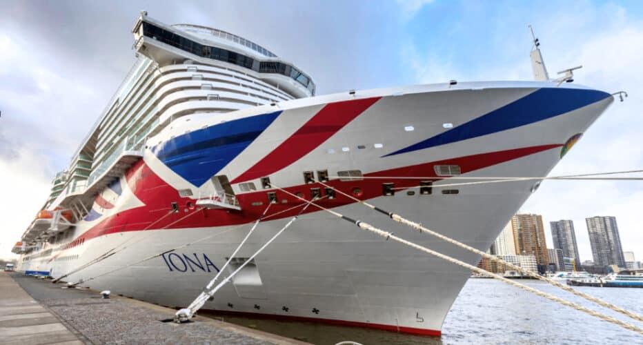 P&O Iona Cruise Ship
