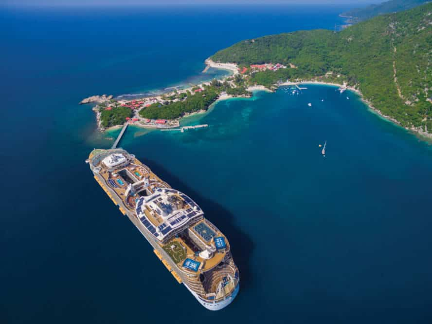 Allure of the Seas at Labadee