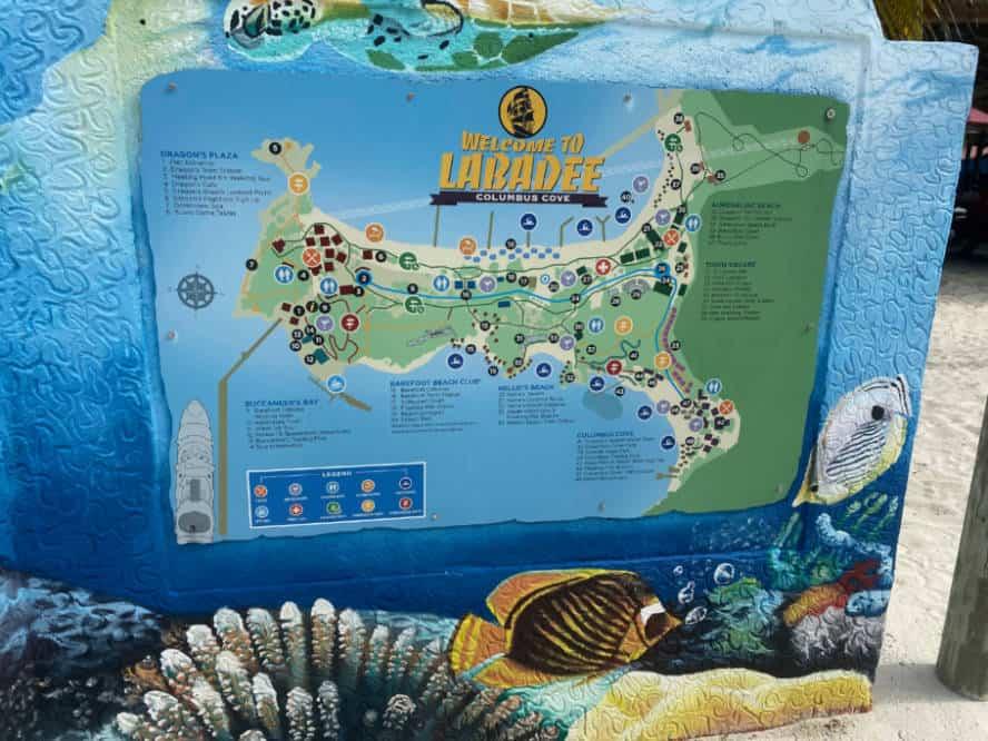 Labadee Map
