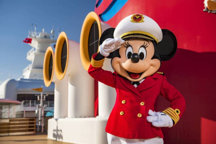 Micky Mouse on Disney Cruise