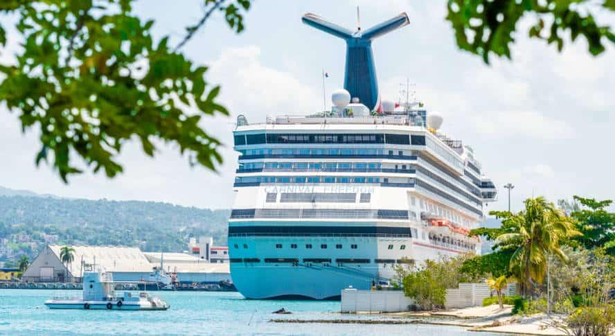 Montego Bay Cruise Port in Jamaica