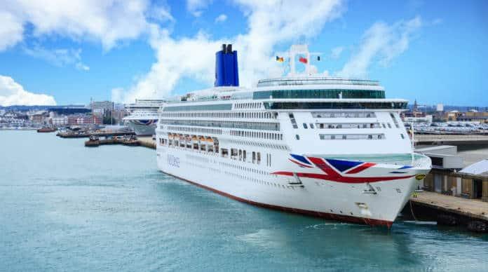 P&O Cruise Ships in Southampton