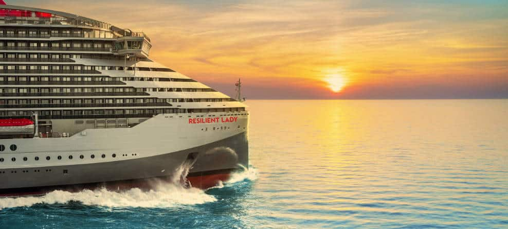 Resilient Lady Cruise Ship Rendering