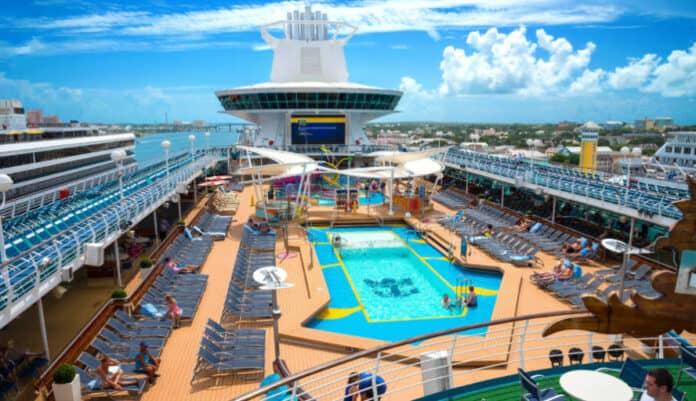 Royal Caribbean Cruise Ship in Nassau
