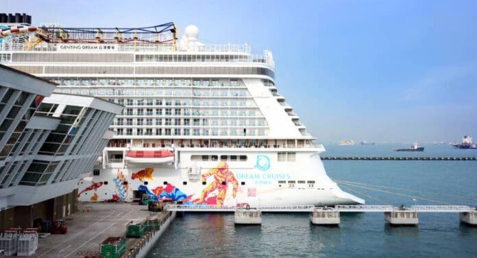 Dream Cruises at Singapore Cruise Centre