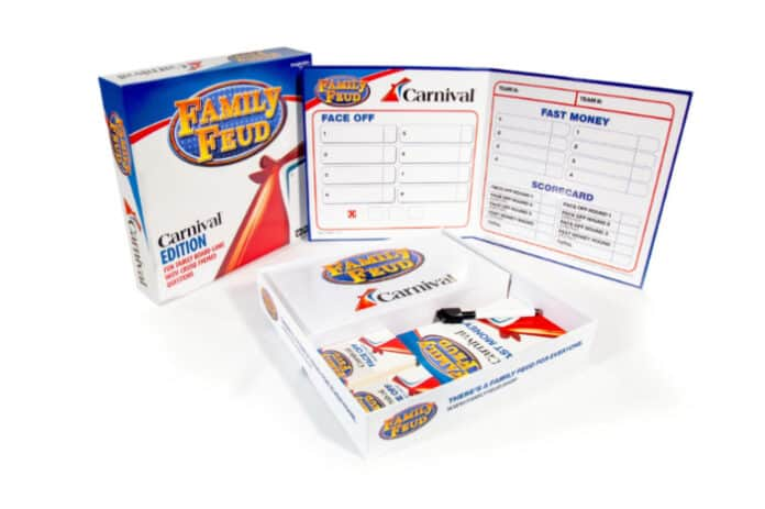 Carnival Family Feud Board Game