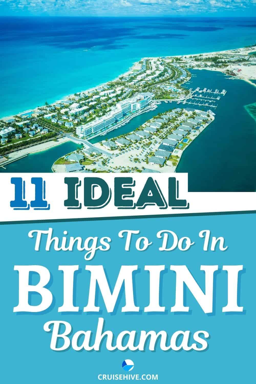 11 IDEAL Things to Do in Bimini, Bahamas