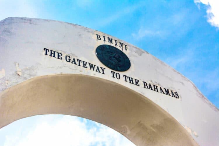 Welcome to Bimini Sign