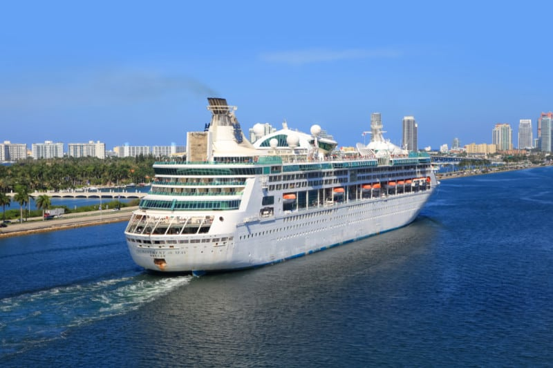 Enchantment of the Seas in Miami, Florida