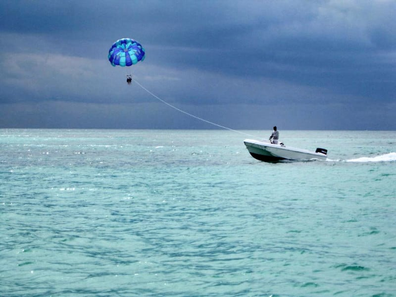 Boat in Freeport, Bahamas