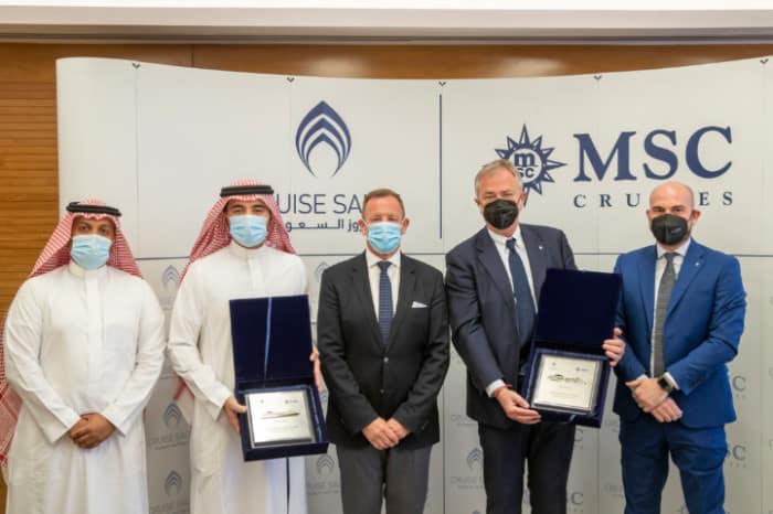 MSC Cruises and Cruise Saudi Agreement