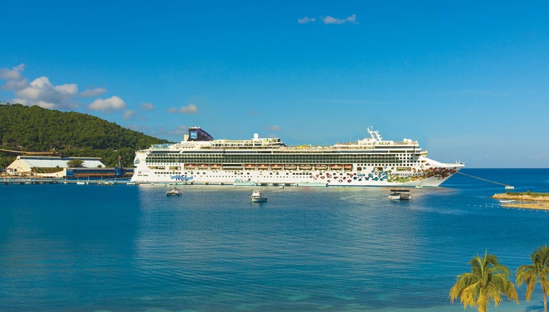 Norwegian Gem in Jamaica