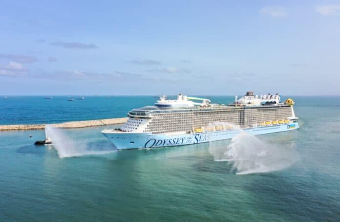 Odyssey of the Seas Arrives in Israel