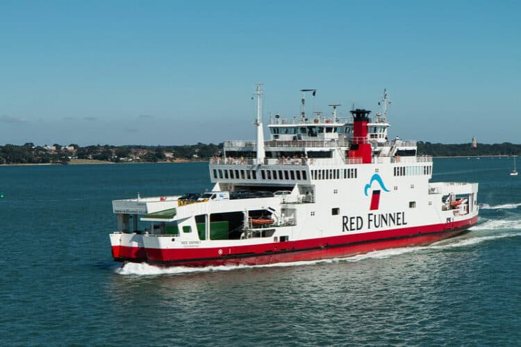 Red Funnel Ferry to Isle of White