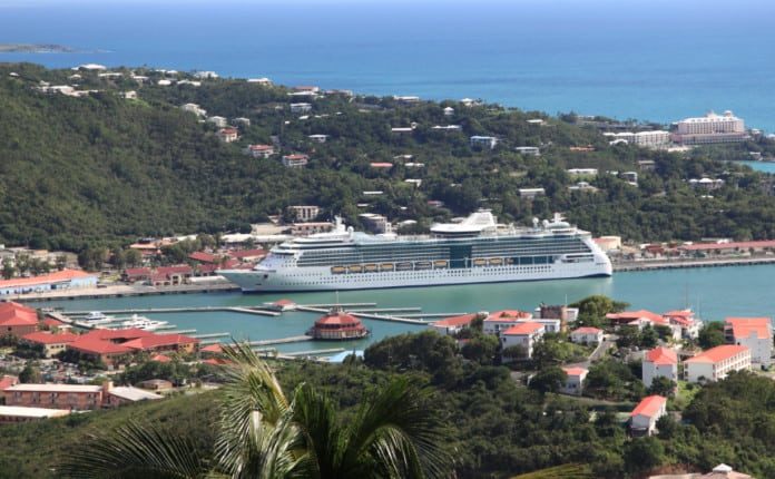 Royal Caribbean at U.S. Virgin Islands