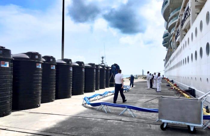 Royal Caribbean Relief Supplies