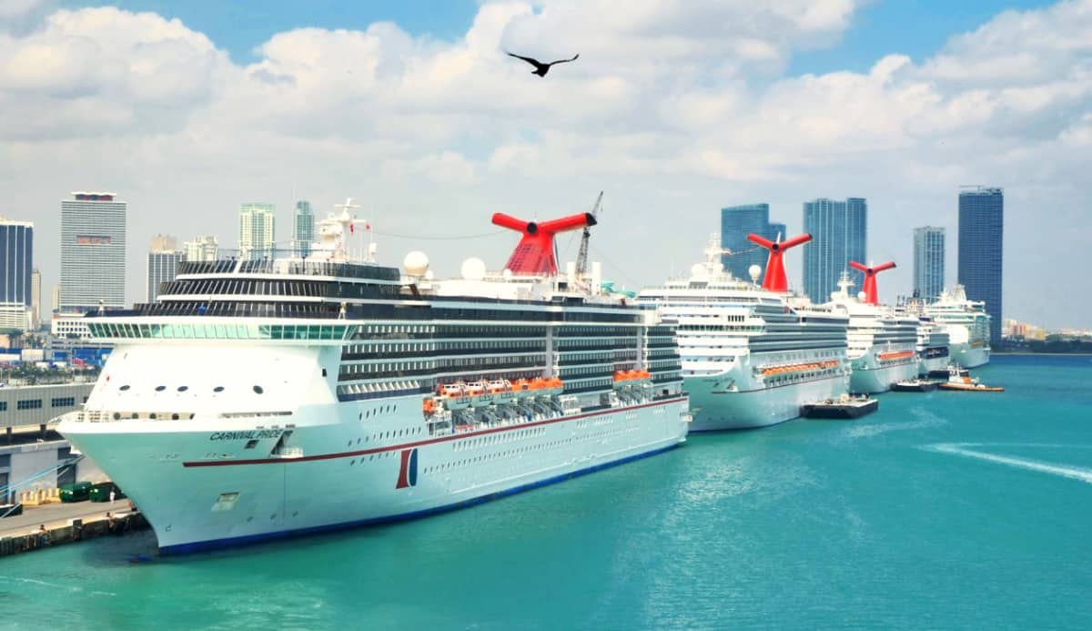 Carnival Cruise Ships in Miami, Florida