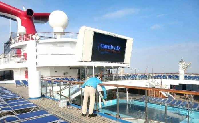 Carnival Cruise Line Crew Member
