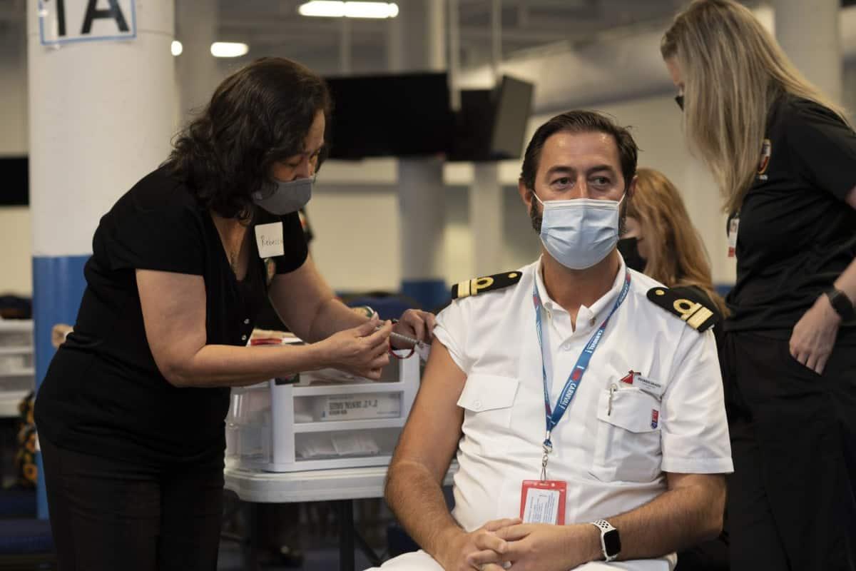 Carnival Crew Vaccination