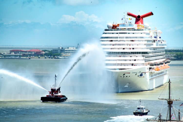 The Carnival Vista returns to the Port of Galveston