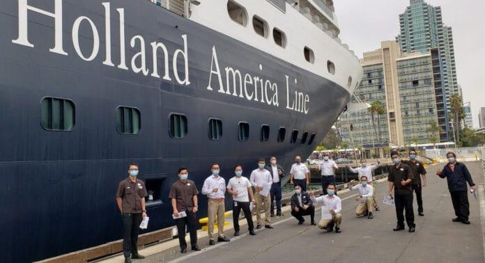 Holland America Crew Vaccinations