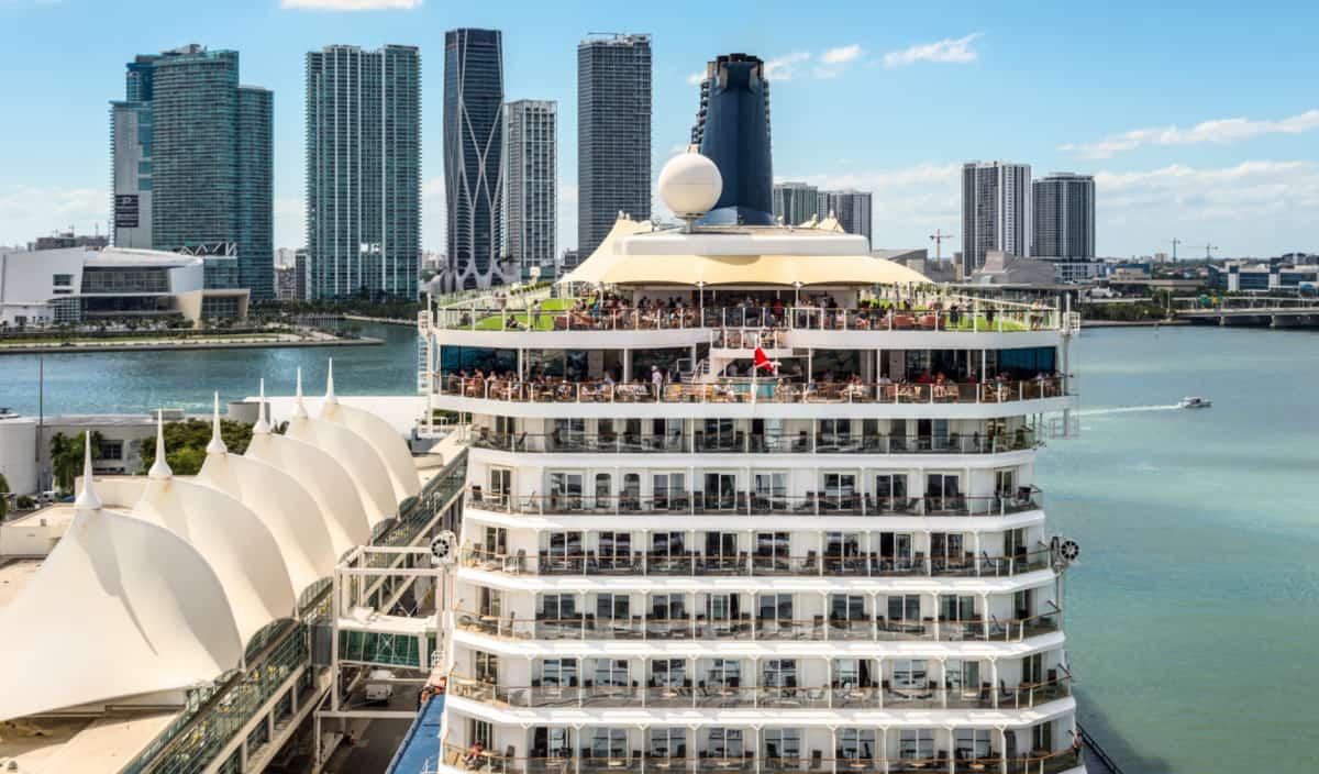 Cruise Ship in Miami Florida