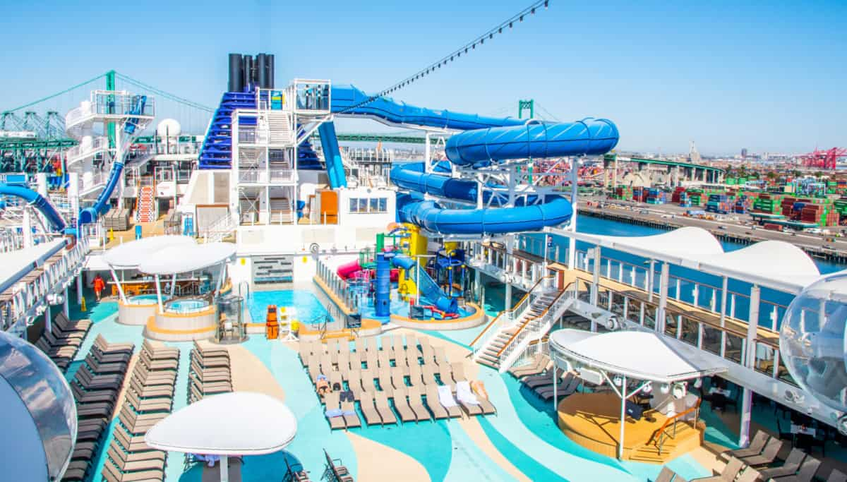 Norwegian Cruise Ship Deck