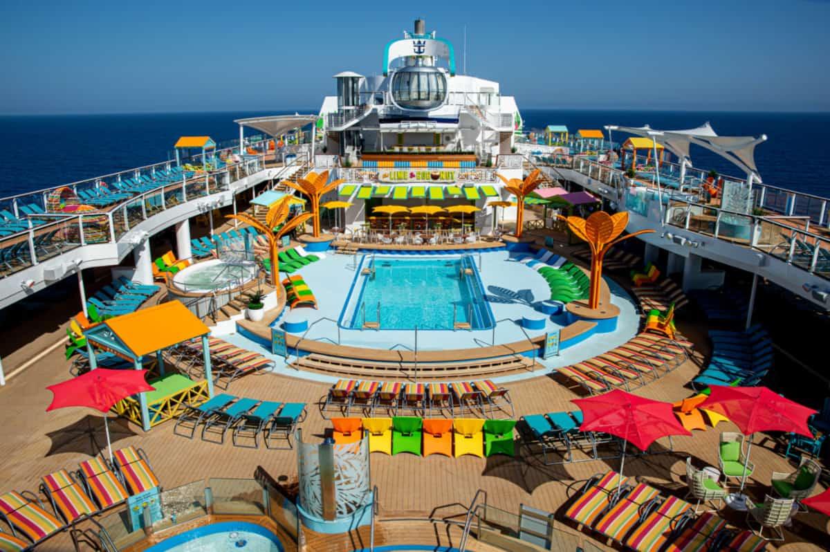 Odyssey of the Seas Open Deck