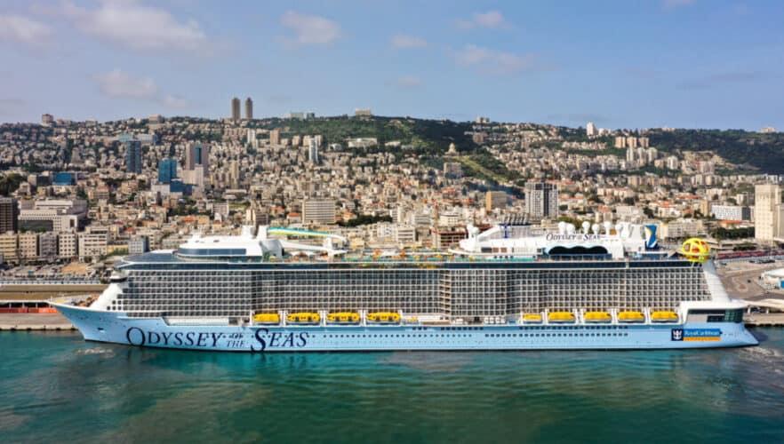 Odyssey of the Seas in Israel