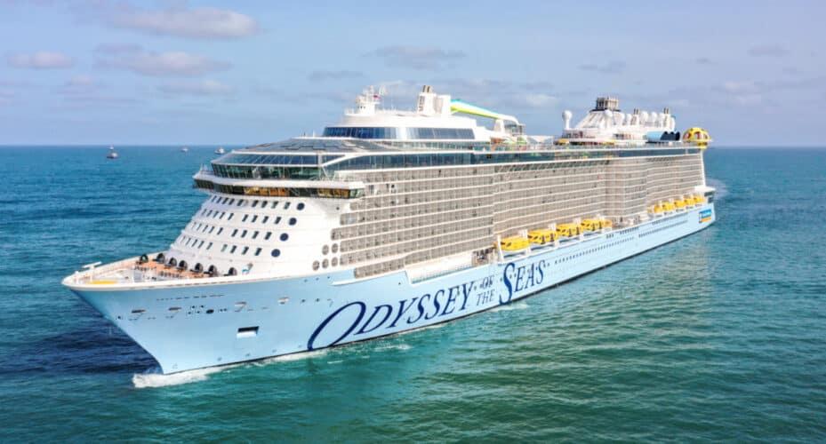 Royal Caribbean's Odyssey of the Seas Cruise Ship