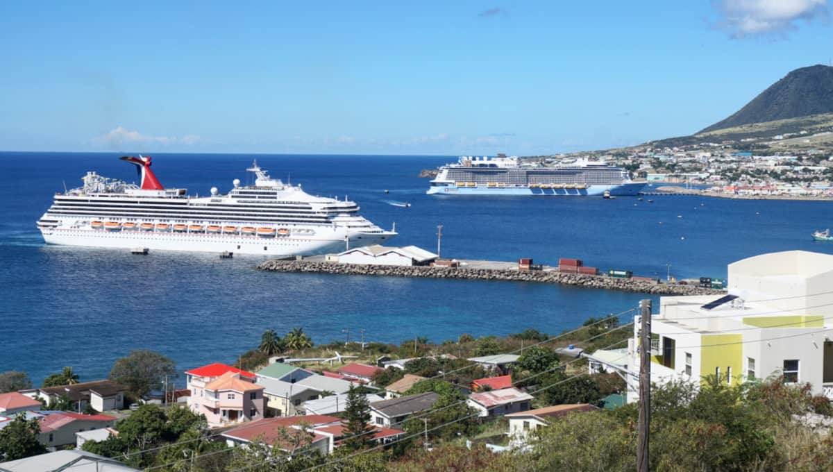 Cruise Ships at St Kitts